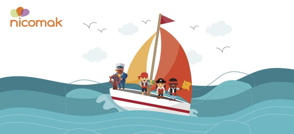 La métaphore du bateau illustre la raison d'être