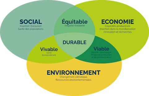 schema du développement durable