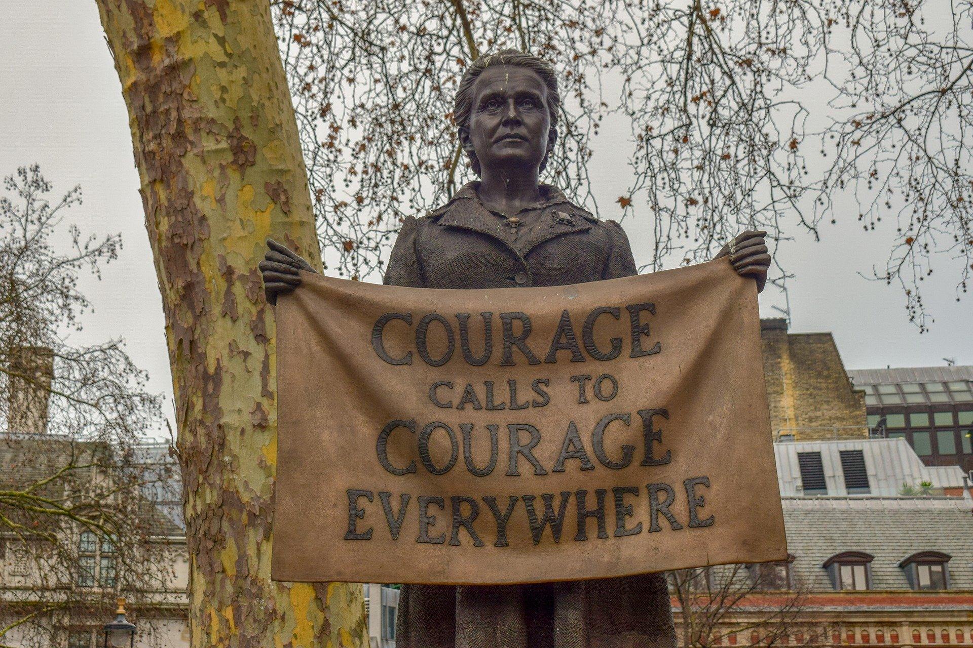 le courage appelle le courage